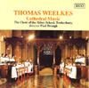 Cover - Thomas Weelkes Cathedral Music